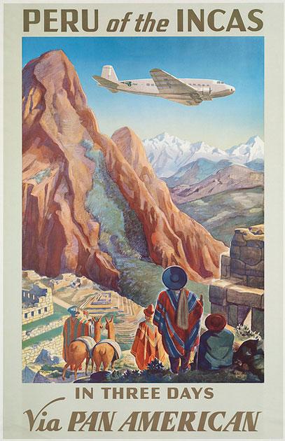 Retro utazási plakátok