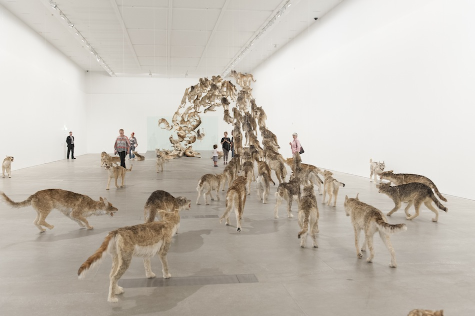 'Cai Guo-Qiang: Falling Back to Earth' Members Preview